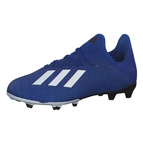 adidas Unisex Kinder X 19.3 Fg J Fußballschuhe, Blau Team Königsblau FTWR White Black Core, 33 EU