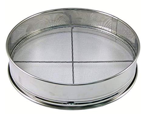 Japanese Stainless Bonsai Tool Soil Sieve Set w / 3 Nets - 11.75'x 11.75'x 2.75'