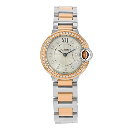 Cartier Ballon Bleu 28 mm orologio da donna W3BB0009