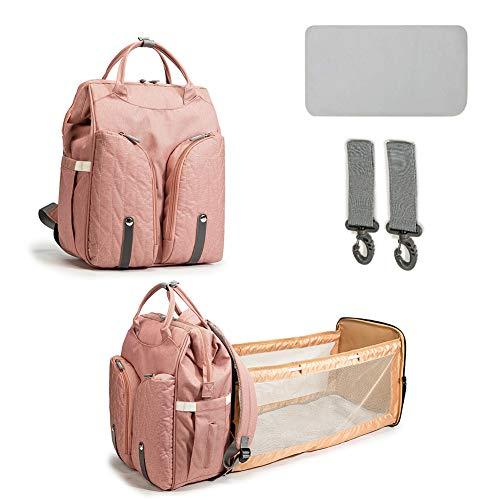 Phayee Portable Backpack Diaper Bag, Foldable Baby Diaper Backpacks, Baby Bed Multipurpose Travel Bag For Outdoor Camping, Stroller Bag