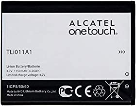 Original Alcatel Battery TLi011A1 for Alcatel OneTouch A463 Pixi Glitz Tracfone 1150mAh - 100% OEM