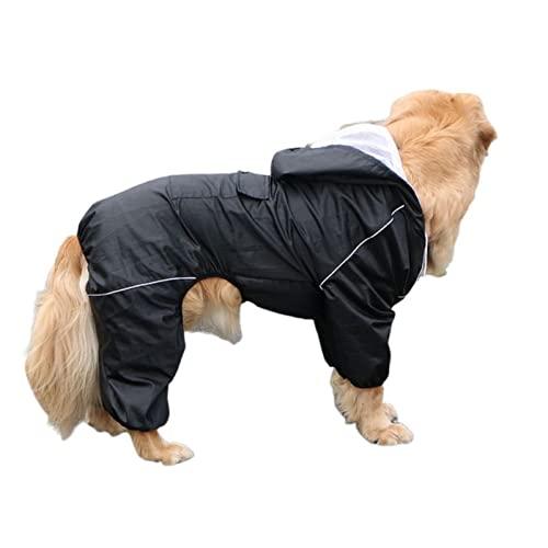 Duży pies płaszcz wodoodporny odkryty duży pies ubrania płaszcz żakiet deszczowy odbijający średni duży duży pies poncho oddychająca siatka