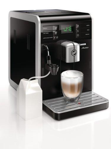 Saeco Moltio - Cafetera espresso super automática, con espu