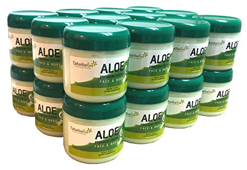 Tabaibaloe Premium Facial and Body Cream Aloe Vera - 300 ml x 24 unités