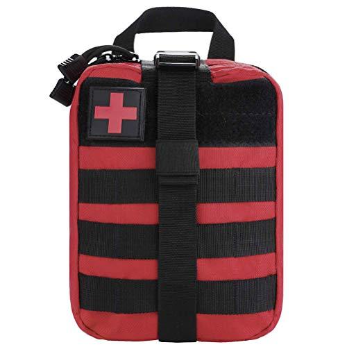 Phayee Outdoor medizinische Ausrüstung Erste Hilfe Tasche Leer Rip Away Medizinische Pouch Klein Tasche für Reisen Camping Wandern