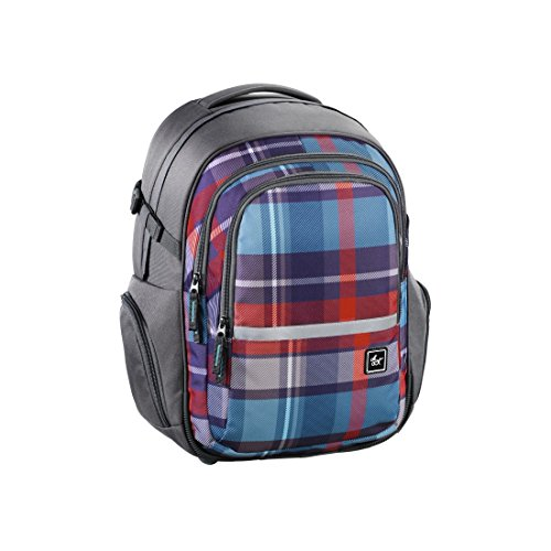 all out Filby Schulrucksack Woody Grey