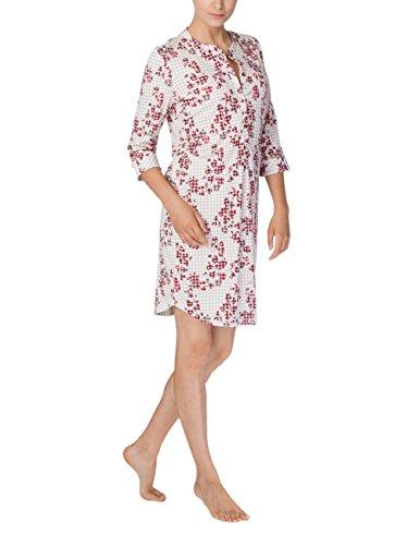 CALIDA Damen Natalie Nachthemd, Rot (Ruby Wine 168), 40 (Herstellergröße: S)
