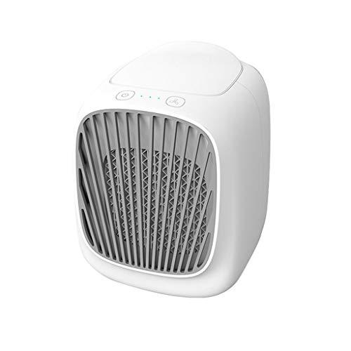 WZHZJ Refrigerador de Aire Nuevo Mini USB Inicio de Escritorio pequeño Refrigeración Aire Acondicionado portátil móvil humidificador de Agua Ventilador de refrigeración