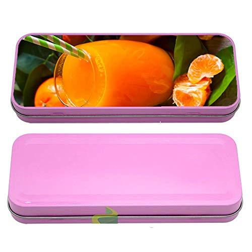 Générique Boite à Crayon jus d'orange - Rose
