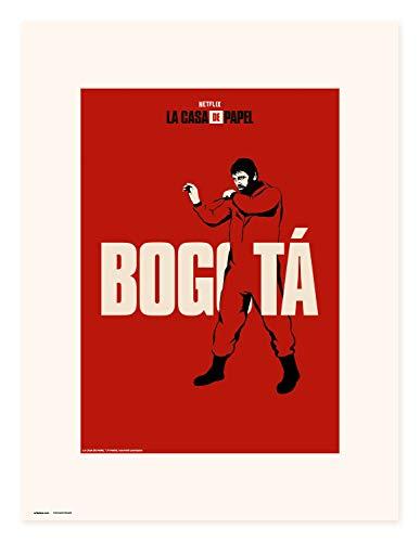 Erik Art Print | Impresin, La Casa de Papel Netflix, Bogota, 30 x 40 cm