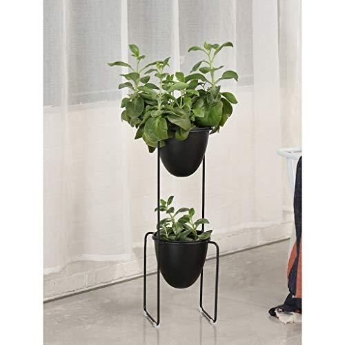 Support de fleur en métal Décoration nordique Salon/balcon/intérieur/plante/petit pot de fleur Iron art Multi-couche étagère à fleurs