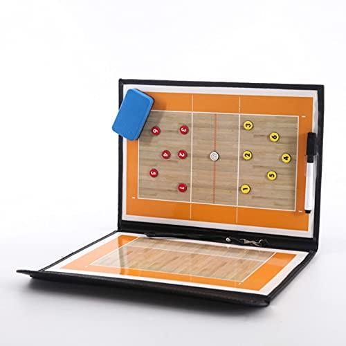 LDD Faltbare Volleyball Board Coaching Volleyball Taktik-Board Magnetische Trainer Taktik Spiel Volibol Training Teach