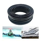 BOYUYO Cable Calefactor Anticongelante para Plantas Invernadero |Tuberías|Reptiles|incubadora|terrario Elemento Calefactor 220V ~230V (Color : 20m, Size : Ø8mm-20W/m)