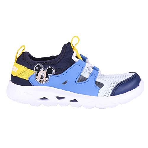 Cerdá Life'S Little Moments Zapatillas Deportivas Transpirables Mickey Mouse con Licencia Oficial Disney, Azul, 26 EU