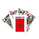 Hecho en Marruecos Country Love Poker Juego de cartas mágicas