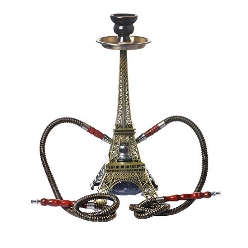 Mr. Hao Shisha Wasserpfeife Paris Tower Doppelrohr