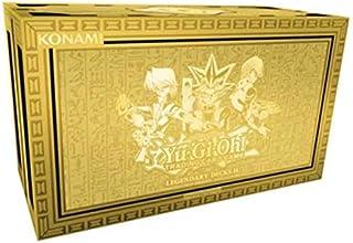 مجموعة صندوق بطاقات يوجي يو ليجندري ديكس II للعبة الاوراق (تتضمن 3 بطاقات الهة قانونية)