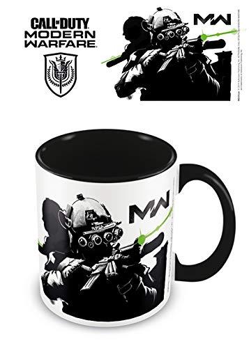 Call of Duty: Modern Warfare (Stealth) MGC25594 Call of Duty: Modern Warfare - Taza de cerámica de 315 ml (Stealth)