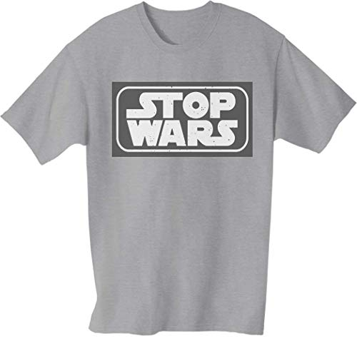 Desconocido Stop Wars Camiseta para Hombre Small