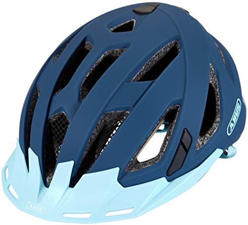 Abus Touren City Allround Urban-I 3.0 - Casco de ciclismo (56-61 cm), color azul