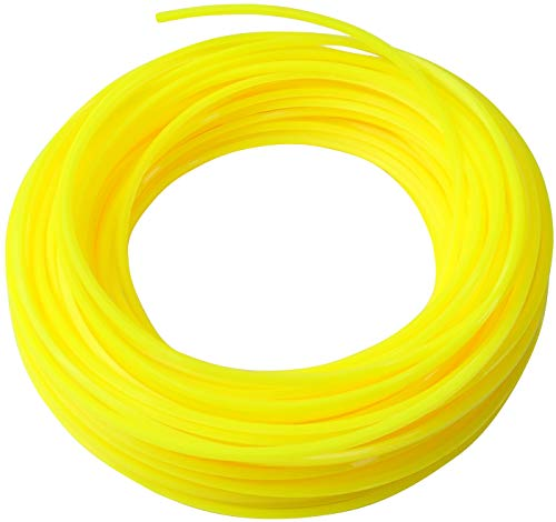 AERZETIX - Hilo de Nylon 1.65mm x 15m para Podadora/Trimmer a Césped - Cordón de Nylon - Perfil Cuadrado - Cuerda de Recambio para Desbrozadora/Recortadora - Césped/Cortacésped - de Plástico - C47022