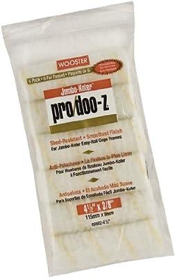 Wooster Brush Jumbo-Koter Pro/Doo-Z Roller 3/8-Inch Nap, 6-Pack