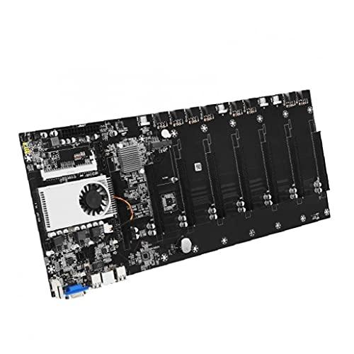 MÁSING MADTOARDE CRYPTO 8 GPU DDR3 MEMORIA BTC-T37 Ethereum Bitcoin Miner Máquina de máquinas herramientas gratis
