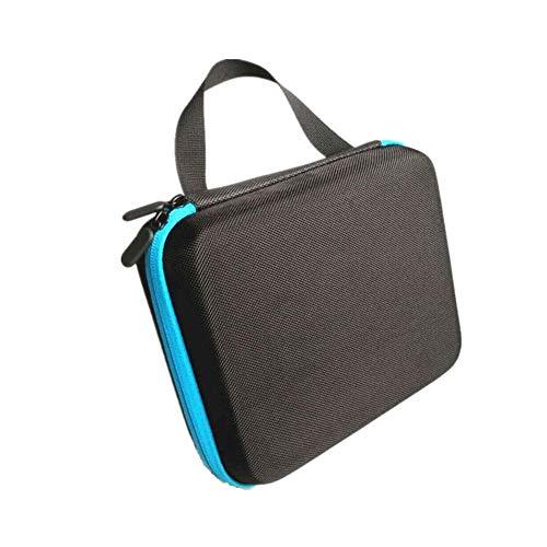 Tragetasche für ätherische Öle, für 5 ml/10 ml – Hartschale, ätherische Öle, Aufbewahrungsbox – tragbare Handtasche – ätherisches Öl Reisetasche blau blau 15 ml