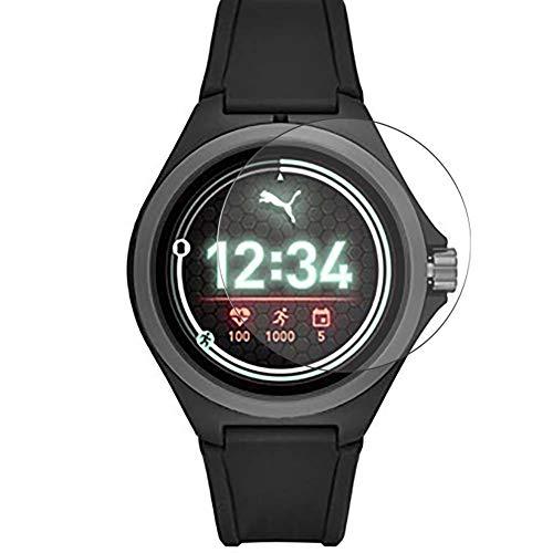 Vaxson 3 Stück Schutzfolie, kompatibel mit Puma Sport Connected Smartwatch Hybrid Watch, Bildschirmschutzfolie TPU Folie [nicht Panzerglas] Neue Version