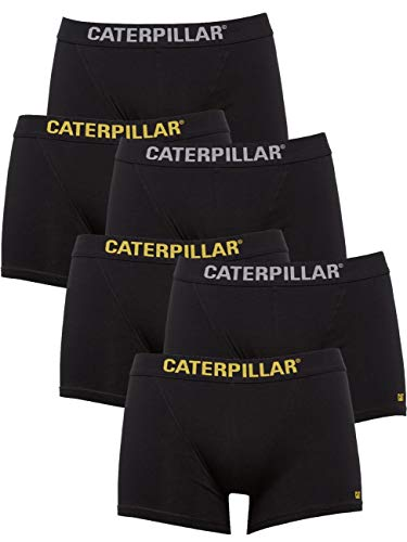 Caterpillar Herren Workwear Boxer-Short im 6er Pack I schwarz XL
