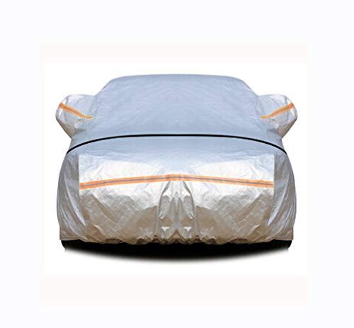 Custom Made Car Cover Compatibile con BMW M2 X2 M5 M3 Serie 6 5 Serie Argento Alluminio Impermeabile Protezione Solare Lattice di Copertura Auto (Color : Silver, Size : M3)