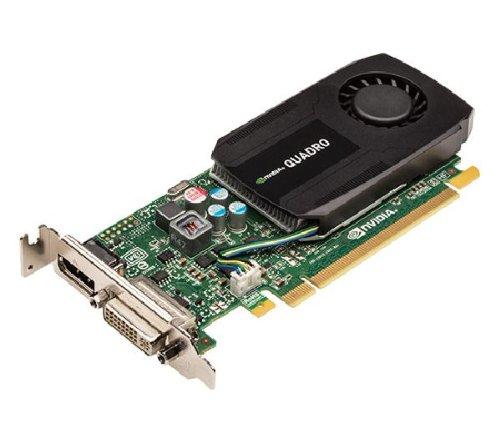 Quadro K600 Kepler - 1 GB GDDR3 - PCI Express 2.0 - Grafikkarte (VCQK600-PB) + DVI Stecker/Stecker (AD00027-R1) HDMI Buchse