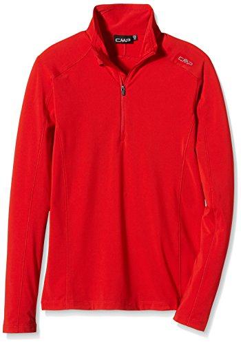 CMP – F. LLI Campagnolo Veste T-Shirt Fonctionnel 44 Rouge