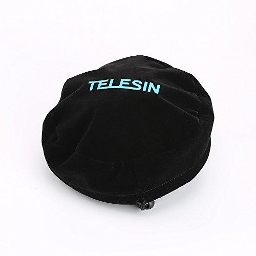 TELESIN Proteja la cubierta de la bolsa de cúpula para TELESIN 6 'T03 / T05 Dome Port para el Gopro...