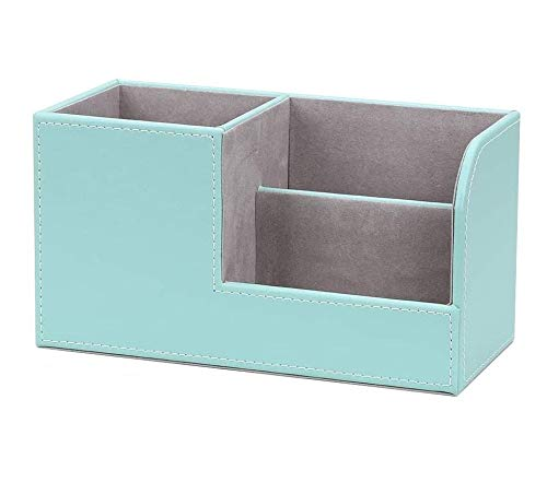 Oinna Caja de almacenamiento multifuncional para artículos de papelería, caja de almacenamiento de cosméticos para el hogar y la oficina