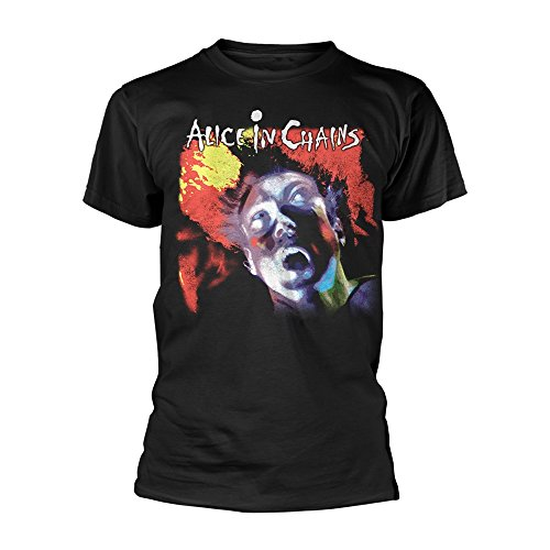 Alice in Chains Facelift Layne Staley Grunge Official Tee T-Shirt Mens Unisex (XX-Large) Black