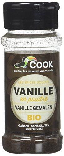 Cook Vanille Poudre en Poudre - BIO - 10g