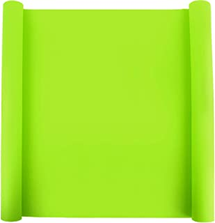 """23.2"""" x 15.6""""Oversize Silicone Mat for Crafts, LEOBRO Food Grade Silicone Sheet for Jewelry Casting Mold Mat, Nonslip Nonstick Table Mat, Heat-Resistant Multipurpose Mat, Fluorescent Green"""