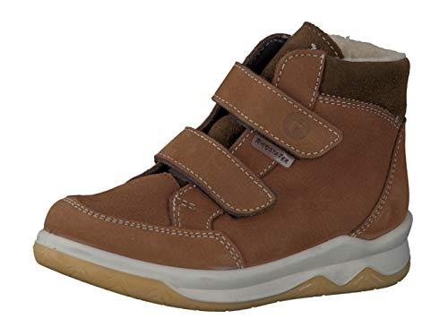 RICOSTA Pepino Jungen Winterstiefel Luan, WMS: Mittel, wasserfest, Winter-Boots Outdoor-Kinderschuhe gefüttert warm,Curry/Hazel,25 EU / 7.5 UK