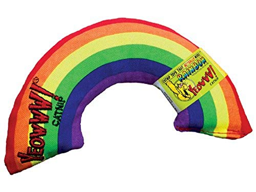 Juguete para gatos con forma de arcoíris de YEOWWW