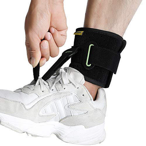 Adjustable Drop Foot Brace Foot Up Afo Brace Unisex Fits for...