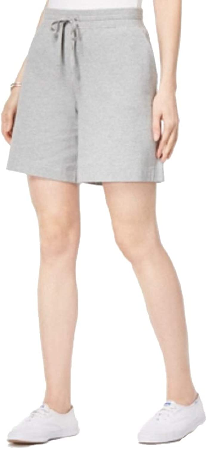 Karen Scott PullOn Drawstring Shorts