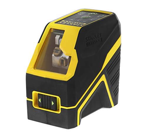 Stanley Fmht77586-1 Fcl-G Niveau Laser Croix Gamme Fatmax - Faisceau Vert - Portée Jusqu'À 50 m avec Cellule de Détection (Non Fournie) - Livré avec 2 Accessoires et Piles