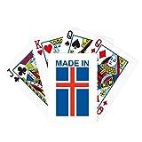 Hecho en Islandia Country Love Poker Juego de cartas mágicas divertido juego de mesa