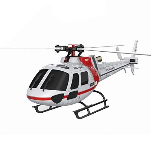 AXJJ Helicóptero 3D 6 Canales RTF Helicopter RTF 6CH Sin escobillas Sistema de conmutación 3D / 6G Pantalla Grande Pantalla de Cristal líquido Control Remoto RC Plane Regalo de Juguete