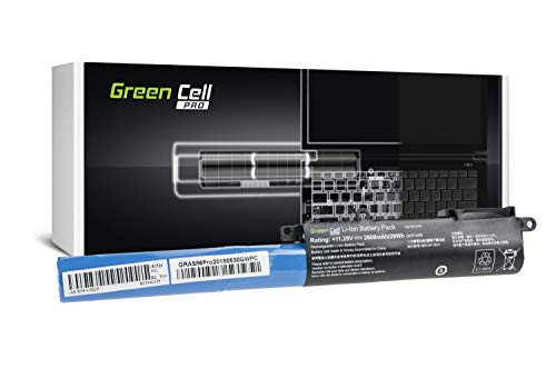 Green Cell PRO Series A31N1519 Battery for ASUS F540 F540L F540LA F540S F540SA F540Y R540 R540L R540LA R540S R540SA R540Y X540 X540L X540LA X540S X540SA X540Y Laptop (Samsung SDI Cells, 2600mAh)