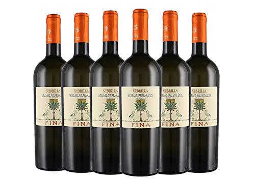 Sicilia DOC Grillo Kebrilla box da 6 bottiglie Cantine Fina 2018 0,75 L