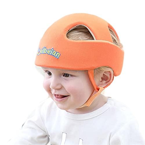 PDDUU Artefacto de la Cabeza contra la caída del bebé, Almohada para niños, niño pequeño, Tapa de Cabeza Anti-colisión, Casco Infantil, Almohadilla de protección de Seguridad (Color : Orange)