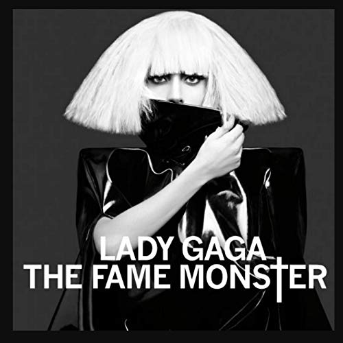 Ruizuo Lady GaGa The Fame Monster Music Album Wall Art Poster Prints Canvas Printing Bedroom Home Decoration Crafts -50x75cm No Frame