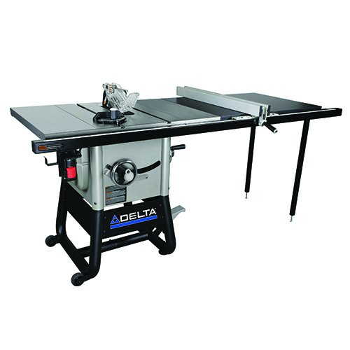 Product Image of the Delta Power Tools 36-5152 Delta Left Tilt Table Saw with 52-Inch RH Rip, 10-Inch